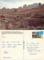 Cape Verde Cabo Verde Postcard Posted 1993 Stamp - Cape Verde