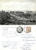 Sharia Adrian Pelt, Tripoli, Libya Postcard Posted 1960 Stamp RP - Libya