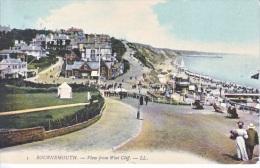 U.K.  BOURNEMOUTH  WEST  CLIFF  To  U.S.   (o) 1908 - Bournemouth (from 1972)