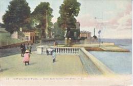 ISLE Of  WIGHT  COWES   To  U.S.   (o) 1910  ROYAL  YACHT  CLUB  HOUSE - Isle Of Man