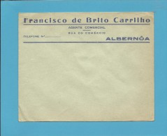 ALBERNOA - BEJA - ENVELOPE COMERCIAL - ADVERTISING - PORTUGAL - Portugal