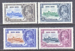 HONG KONG  147-50   **. - Unused Stamps