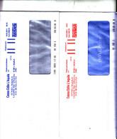 """ITALIA 2012 -  Su Lettera  """"edilizia"""" (2 Oggetti Con Colori Differenti) - Affrancature Meccaniche Rosse (EMA)"""