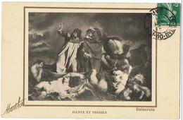 Dante   Et  Virgile      Delacroix       Marthe - Museos