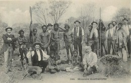 Réf : A14 -1357 : Mineurs Australiens - Aborigènes