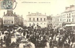 CHATEAUROUX - LE MARCHE AU BLE - Chateauroux