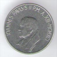 VATICANO 50 LIRE 1991 - Vaticano
