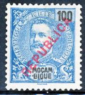 """!■■■■■ds■■ Mozambique 1917 AF#194(*) Local """"republica"""" 100 Réis (x0650) - Mozambique"""