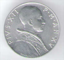 VATICANO 5 LIRE 1953 - Vaticano