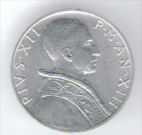VATICANO 5 LIRE 1951 - Vaticano