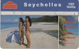 SEYCHELLES - 41 - BEACH SCENE - Seychelles