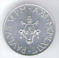 VATICANO 5 LIRE 1978 - Vaticano