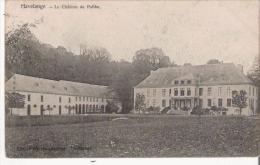 HAVELANGE  LE CHATEAU DE PAILHE  1905 - Havelange