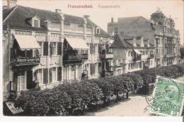 FRANZENSBAD (FRANTISKOVY LAZNE) 1438  KAISERSTRASSE - Tchéquie