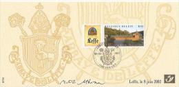 CARTE  SOUVENIR    TIMBRE    BELGE - Souvenir Cards