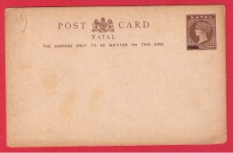 NATAL  //  Entier Postal  //     VIERGE - Grande-Bretagne (ex-colonies & Protectorats)