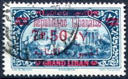Grand Liban                     120  Oblitéré - Grand Liban (1924-1945)