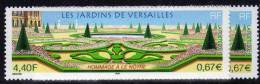France N°3389a XX Les Jardins De Versailles  Variété Inscription La Poste Dédoublée TB - Varieties: 2000-09 Mint/hinged