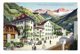 Bozen - Das Batzenhausl Mit Dem Rosengarten - Bolzano (Bozen)