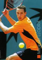 FEDERATION FRANCAISE DE TENNIS...MICKAEL LLODRA...CPM - Tennis