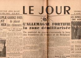 Le Jour Du Vendredi 26 Avril 1935 - General Issues