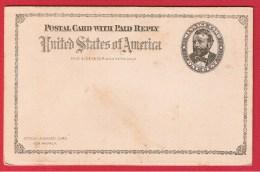 USA //  ENTIER POSTAL  //  NEUF  //  AVEC COUPON REPONSE - ...-1900