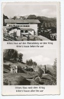 @ CPSM HITLERS HAUS AUF DEM OBERSALZBERG VOR DEM KRIEG, NACH DEM KRIEG, HITLER'S HOUSE BEFORE AND AFTER THE WAR - Berchtesgaden