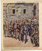 Rivista Del 1948  Processo Per Il Massacro Di ANDRIA A TRANI  Barletta  LITHO - Ante 1900