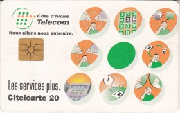 IVORY COAST - 24 - TELECOM'S SERVICES - Costa D'Avorio