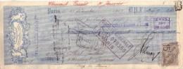FAÏENCERIES SARREGUEMINES , DIGOIN , VITRY LE FRANCOIS & ST MAURICE - UTZSCHNEIDER & CIE - MANDAT - 1909 - Lettres De Change