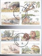 NAGALAND      Faune Diverse Sauvage - Vignettes Autocollantes