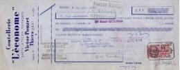 PUY DE DÔME - THIERS - COUTELLERIE L´ECONOME - VICTOR POUZET - MANDAT - 1938 - Bills Of Exchange
