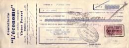 PUY DE DÔME - THIERS - COUTELLERIE L´ECONOME - VICTOR POUZET - MANDAT - 1941 - Lettres De Change
