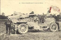 MILITARIA - Canon Automobile Pour Tir Contre Les Ballons - Equipment