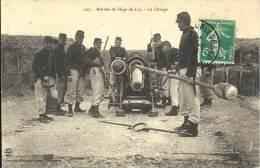 MILITARIA - Mortier De Siège De 220 - La Charge - Equipment