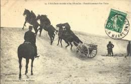 MILITARIA - L'artillerie Montée Et Les Obstacles - Franchissement D'un Talus - Equipment