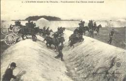 MILITARIA - L'artillerie Montée Et Les Obstacles - Franchissement D'un Chemin étroit Et Encaissé - Equipment