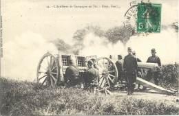 MILITARIA - L'artillerie De Campagne Au Tir - Pièce Feu!.. - Equipment