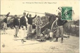 MILITARIA - Nettoyage Des Pièces De 90 Sur Affut Siège Et Place - Equipment