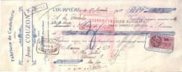 PUY DE DÔME - COURPIERE - FABRIQUE DE COUTELLERIE - JEAN COUZON - 1938 - Lettres De Change