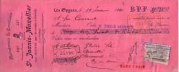 PUY DE DÔME - SAINT REMY SUR DUROLLE - MANUFACTURE DE COUTELLERIE - ST JOANIS MAZELLIER - MANDAT - 1910 - Lettres De Change