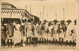 Pays Div- Ref B393- Djibouti - Guerriers Issa  -carte Bon Etat  - - Djibouti