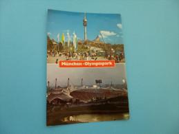 LE STADE OLYMPIQUE DE MUNICH. - Stades