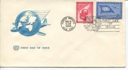 1959  FDC  See Scan - New York - Hoofdkwartier Van De VN