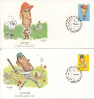 4 FDC's Australië / Australia 1981 - Stamps
