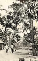 Pays Div- Afrique - Ref B383- Dahomey - Cotonou - Village Des Pecheurs - Carte Bon Etat  - - Dahomey