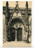 CP , 29 , FOLGOET , Porche Notre-Dame De La Basilique Notre-Dame - Other Municipalities