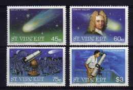 St Vincent - 1986 - Appearance Of Halley's Comet - MNH - St.Vincent (1979-...)