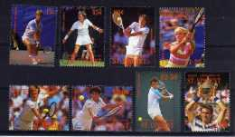 Grenadines Of St Vincent/Bequia - 1988 - International Lawn Tennis Players - MNH - St.Vincent (1979-...)