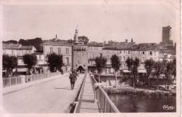 GARD - SOMMIERES - PANORAMA PRIS DU PONT. - Valleraugue